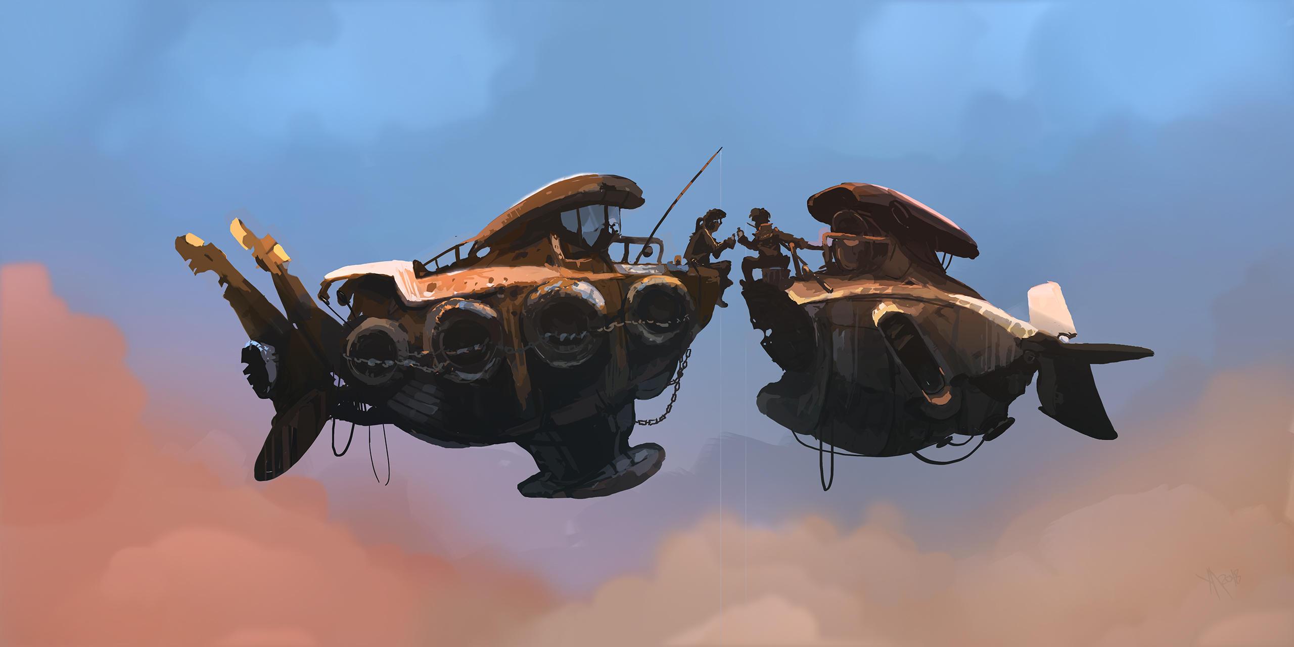 Between Fishing by Weilard