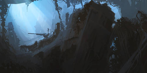 Old Jungle by Weilard