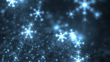 Digital Snowflakes by ThoughtWeaver