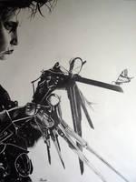 Edward Scissorhands by minus1988