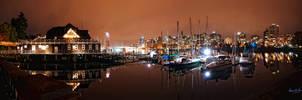 Coal Harbour Vancouver II by tt83x