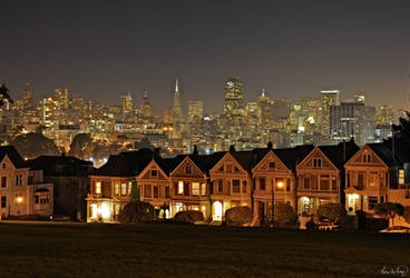 San Francisco Skyline VI by tt83x