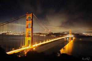 10 Seconds at Golden Gate Bridge by tt83x