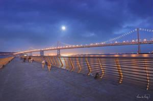 Bay Bridge by tt83x