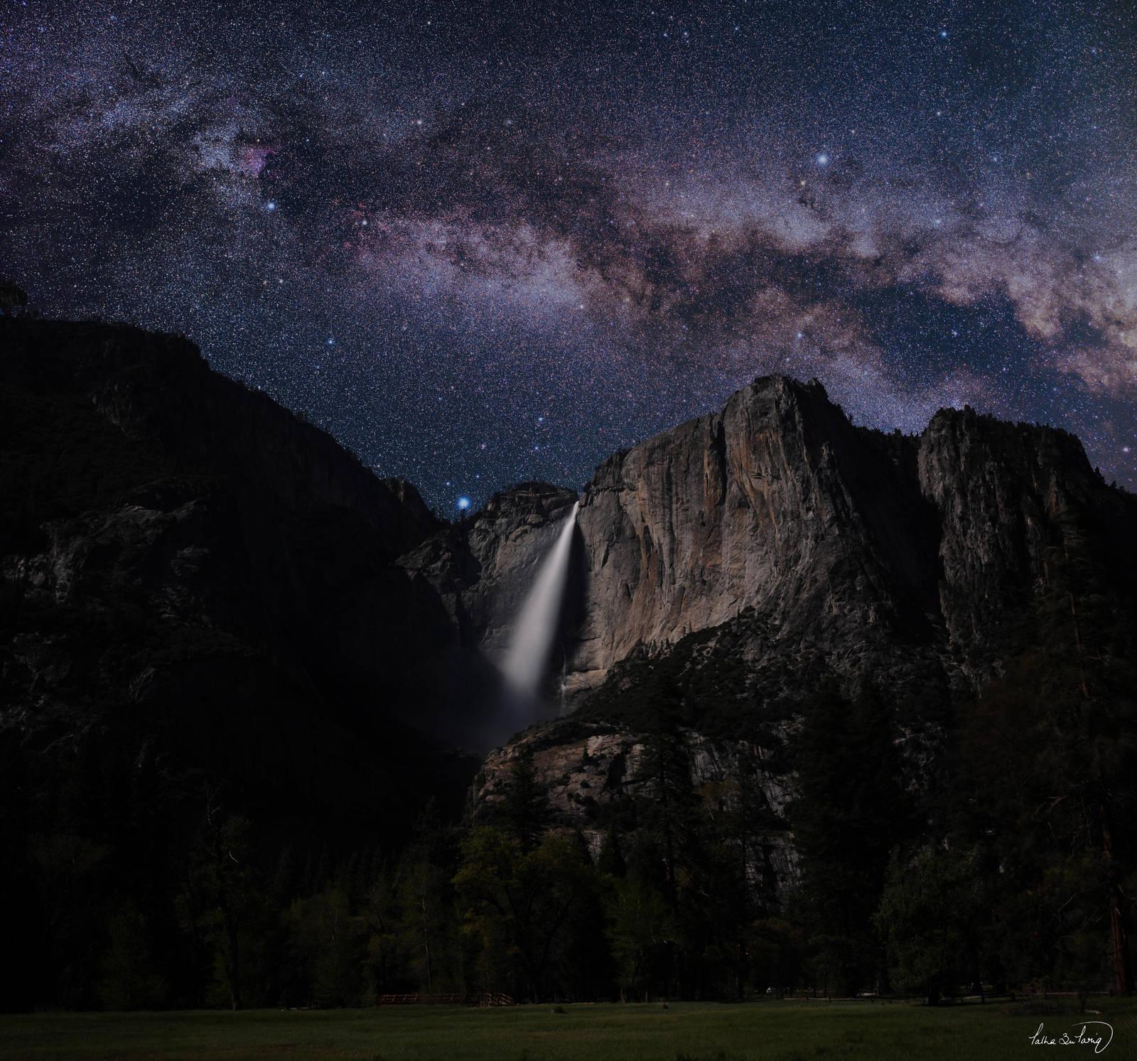Yosemite Milky Way by tt83x