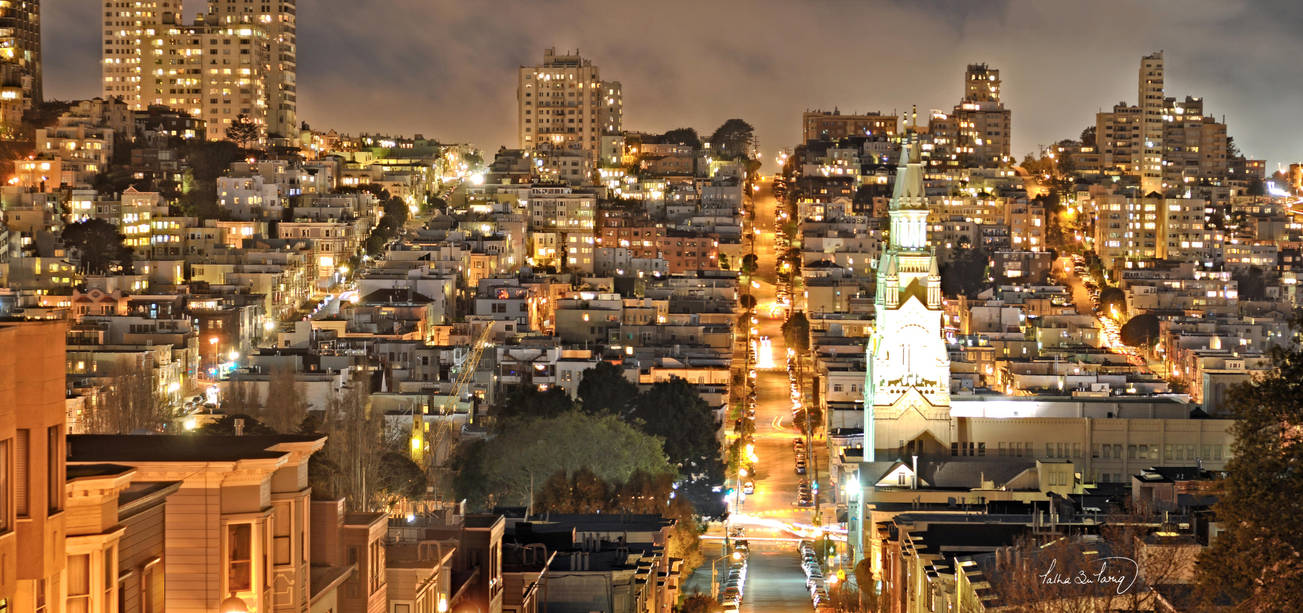 Telegraph Hill - San Francisco by tt83x