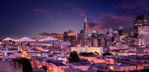 San Francisco Skyline X15 by tt83x