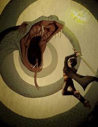 Basilisk Battle by HauntedHouse667