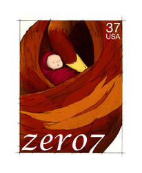 Stamps - 11 Zero 7 by princepoo