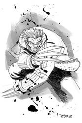 Wolverine  let's go bub by zecarlos