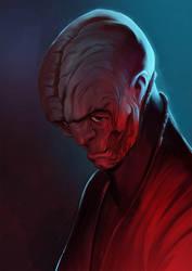star wars 40 years collab - snoke by zecarlos