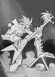 Lord Raptor by zecarlos