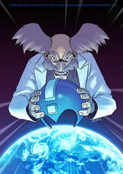 collab megaman 30th Dr Willy by zecarlos