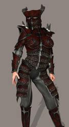 Dragon Warriorress by thunderrr