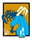 Goat by Somberwolf