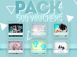 MEGA PACK 500 WATCHERS | GRACIAS by SabDesings