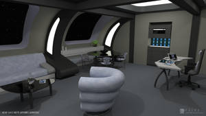 Nova Class Refit - Captain's Quarters (Render 1) by falke2009