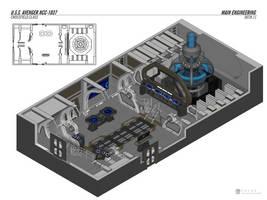 U.S.S. Avenger - Engineering by falke2009