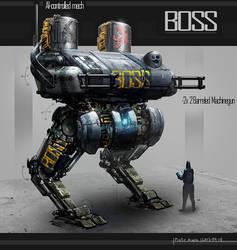 [Boss] Guild Mech by St-Pete