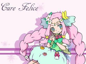 Mahou Tsukai Precure!~Cure Felice by dream-thunder