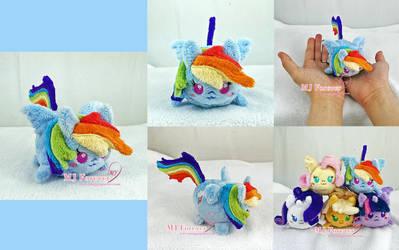 Tsum Rainbow Dash! by moggymawee