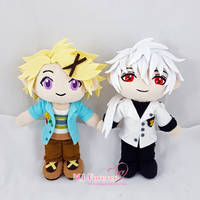 Yoosung and Zen Plush by moggymawee
