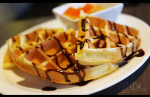 Chocolate Waffle by reiime