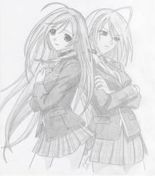Moka Akashiya - Rosario Vampire by Nick-San90