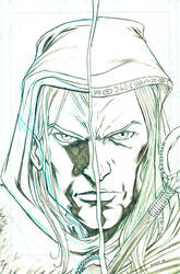 Drizzt_Raistlin by ColtNoble