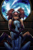 Godkiller cover, colors by ColtNoble