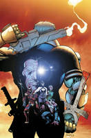 BLOODSTRIKE 27 cover by ColtNoble