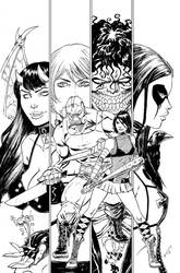 HSvCHAOS 01 cov inks by ColtNoble