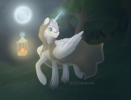 Diamond Shine Commission by Acry-Artwork