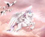 Diamond in Cotton Candy Skies - YCH by Acry-Artwork