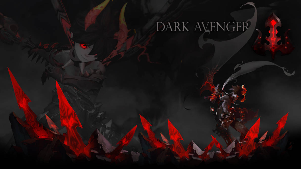 Wallpaper Dragonnest Dark Avenger By Ama Toyphoto On Deviantart