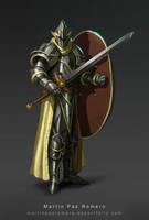 The Loyal Knight by martinpazromero