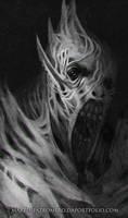 Creature Portrait Sketch by martinpazromero
