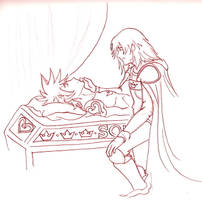 Here Lies the King by terrabm