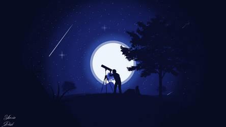 Stargazing by dridiyassin