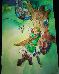 Ocarina of time by nightmareGOD235