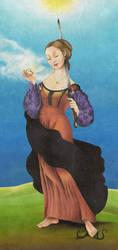 Sacred Woman by Drawlight