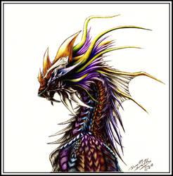 Zeitgeist Dragon by CryoftheBeast