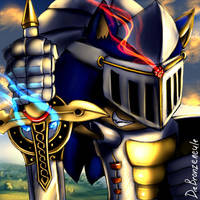 Sonic the Knight by DieBronzeneule