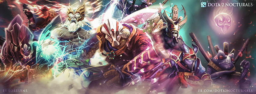 Dota 2 Nocturnals by LorelynF