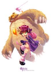 League of Legends: Annie by bcnyArt