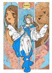 Oh My Goddess! by bcnyArt