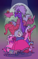 Marvelous Mad Madam Mim Menagerie by toonbaboon