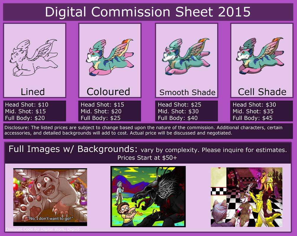 digital commission sheets  current
