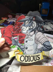 Odious Badge by xCailinMurre