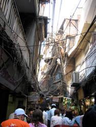 Wire Canopy by feystarlight